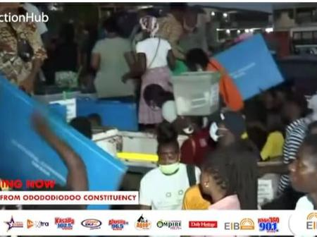Voters at Odododiodo constituency have breached Covid-19 protocols