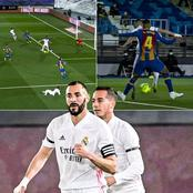 El Clasico: See The  Goal Real Madrid Ace Karim Benzema Scored Against Barcelona