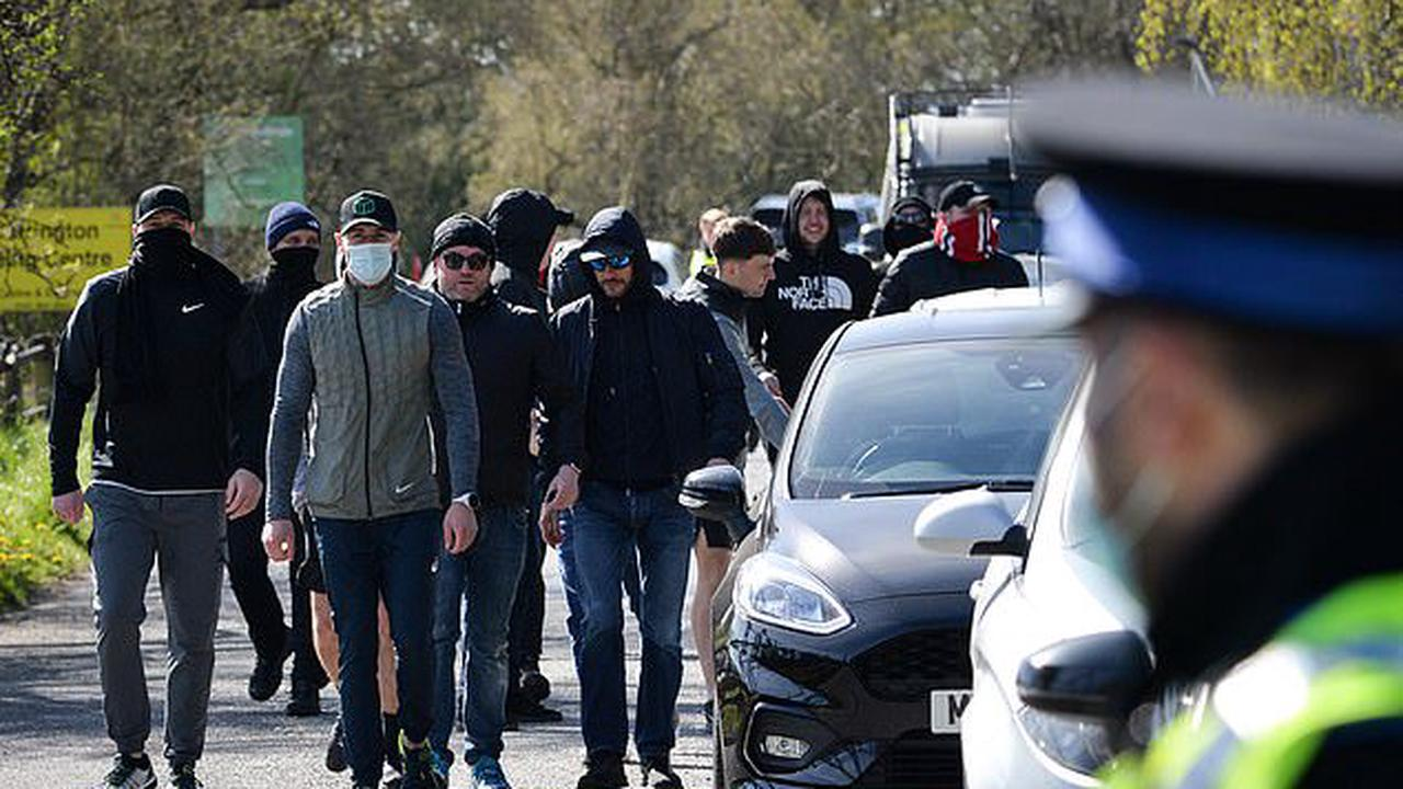 Manchester United stars were left shocked at how easily angry fans were able to breach security after same group who attacked Ed Woodward's house stormed training ground amid European Super League backlash