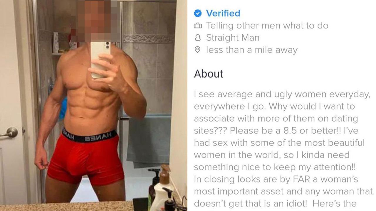 Profile bodybuilding tinder Man sets