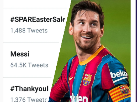 Leo Messi is trending on Twitter, see the reason behind his latest trend.
