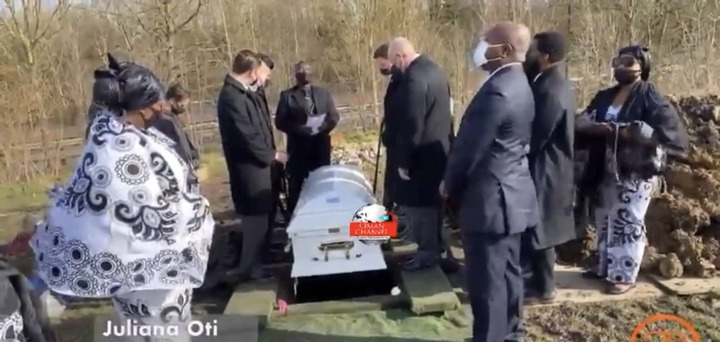 8ce0bec3ec614910a89c4c58b27b33b3?quality=uhq&resize=720 - Tears Flow From The London Cemetary Where Becca's Mother, Juliana Oti Was Buried - Sad Scenes