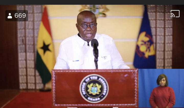"""8ce2093b610c617376fddf03c8879c5e?quality=uhq&resize=720 - """"We can't never be ungrateful"""": Ghanaians React To President Akufo-Addo's Nation Address Positively"""