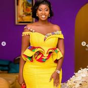 Look Attractive In These 34 Lovely Kente Dress Styles This January