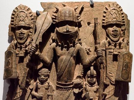 British Museum Full Of Stolen African Artifacts, It Even Says They Belong To Britain. See The Video