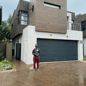 Emtee Show off His Fancy house