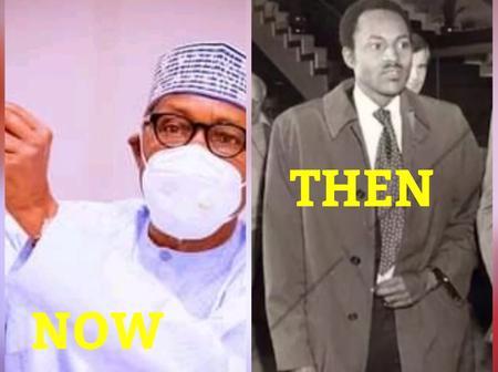 9 Super Stunning Throwback Photos Of President Muhammadu Buhari