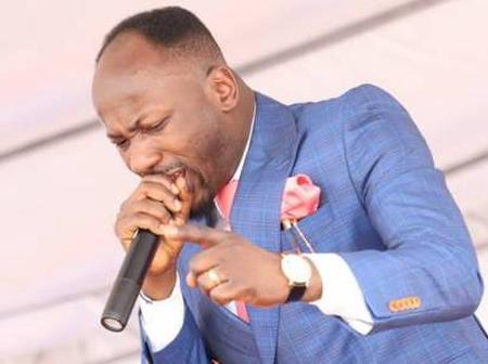 Loyalty that hasn't seen money fear it saying apostle Johnson Suleman