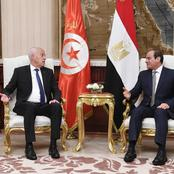 الرئيس السيسي ورئيس تونس يؤكدان على أمر مهم بخصوص سد النهضة