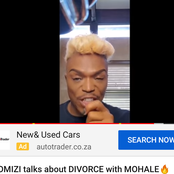 Somizi talks about rumours of divorce with Mohale. He refuses to be bullied by anyone.