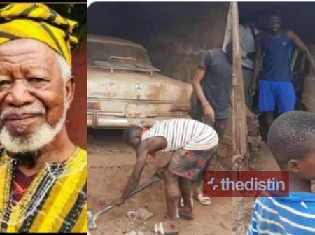 Meet the Old man who is trending on social media; Read what he did