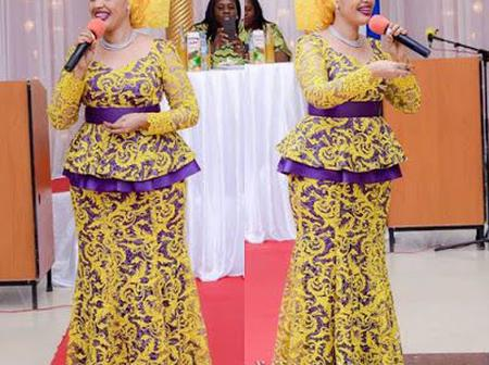 Different Styles Made With Ankara And Chiffon You Should Try This Festive Season