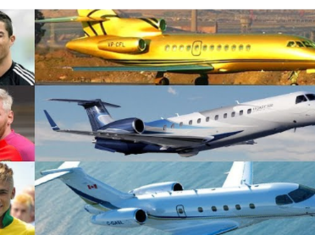 5 Footballers With Private Jets