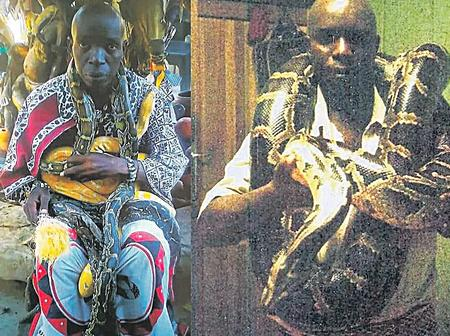 Meet Sangoma who uses snakes to heal people from untold secrets