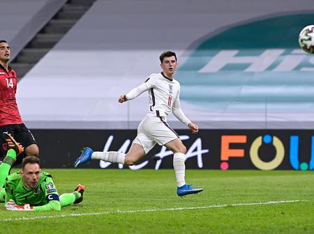 Check out the record mason mount set in his last match against Albania
