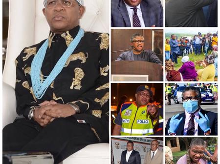 Messages Pour In For Fikile Mbalula