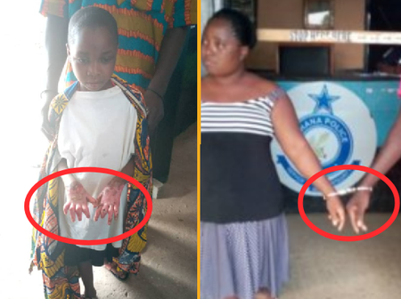 Couple Grabbed By Akuse Police For Burning Hands Of 11-Year-Old Girl