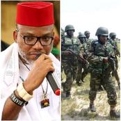 Nnamdi kanu sends massage to 101 soldiers that fled from boko Haram attacks to join ESN