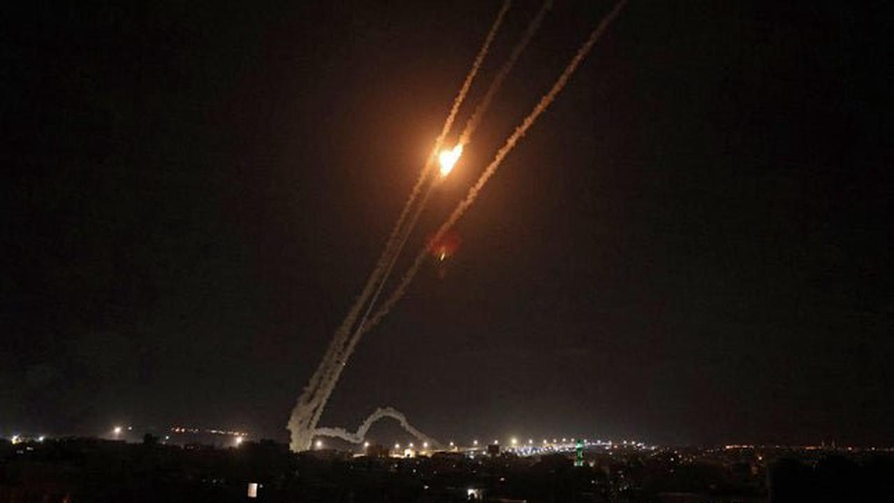 Israeli forces hit Hamas tunnel system in Gaza, deny reports of ground assault