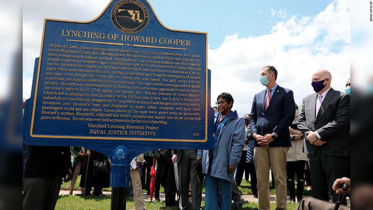 Maryland NAACP leader blasts Gov. Larry Hogan's posthumous pardons of lynching victims as 'political posturing'