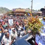 Ruto Receives Heroic Welcome In Meru As Jubilated Crowd Burst Into Song And Award Him With Miraa