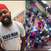 If You Know Anyone In Enugu, Please Send A Tank Of Water To Him Or Her Now -Man Cries Out