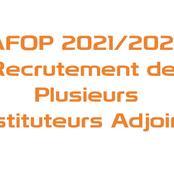 CAFOP2021 : le concours étant lancé, voici ce qu'il vous faut comme informations très utiles !