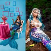 Who is the real African mermaid between Sis Derby and Hajia4Real