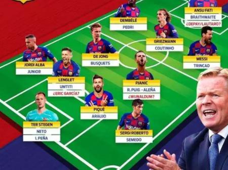 Opinion: FC Barcelona Could Come back To Their Best Form if They Use This Formation