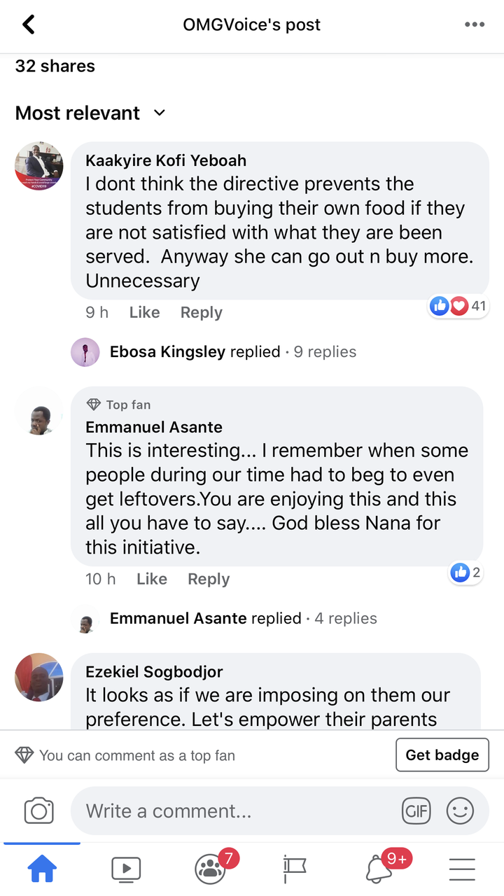 """8d5adb0b335ebc11f4c3c4c74f3a6b6e?quality=uhq&resize=720 - """"Half a loaf is better than none"""" Ghanaians descend on the JHS girl who complained about the one Banku"""