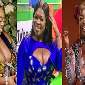 Meet 4 Ghanaian Female Celebrities Who Are Trending On Social Media Because Of Their Huge B0obs.