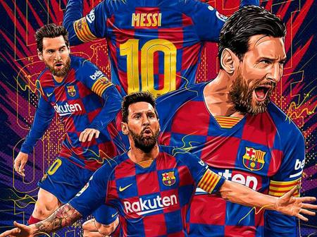 Check out photos of Lionel Messi playing for Barcelona this season that you would love to see
