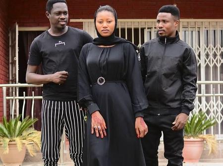 Look At Some Lovely Pictures Of Upcoming Actress, Momee Gombe With Some Kannywood Male Actors