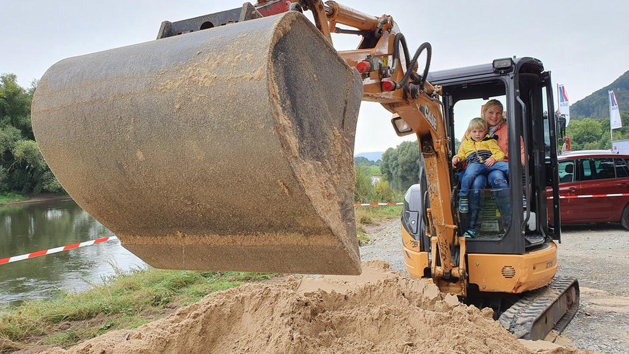 Landesgartenschau 2023: Höxter feiert erste Baustelle