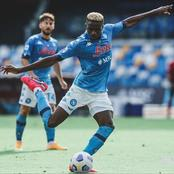Super Eagles star Victor Osimhen shines in Napoli's away victory in the UEFA Europa League