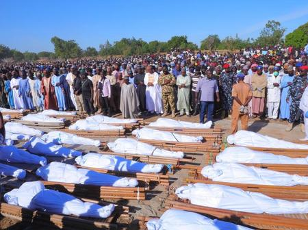 So Sad, See The Photos Of The So Sad, See The Photos Of The  48 Farmers That Was Killed In Borno State By Boko Haram
