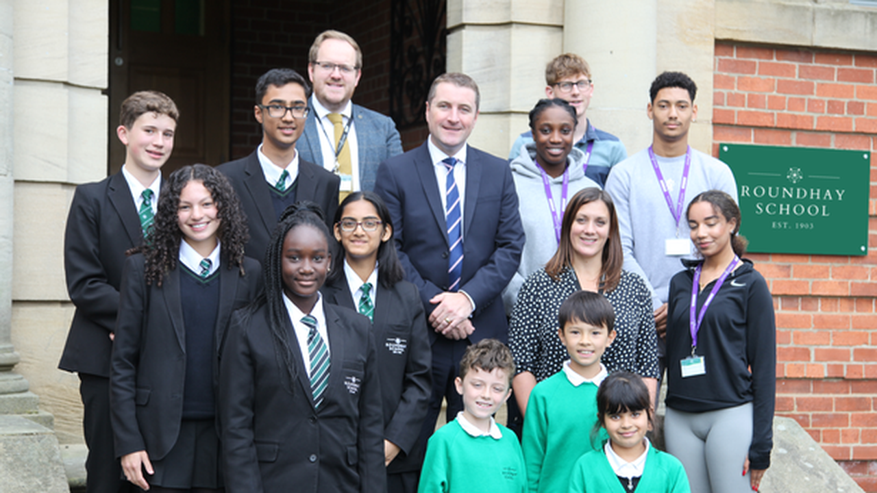 Roundhay School open morning is on October 16