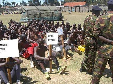 Cries As KDF Applicants Receive Fake Calling Letters And Arrested On Recruitment Day (VIDEO)