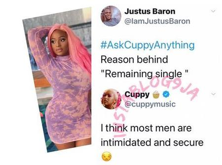 DJ Cuppy exposes why she is still single.