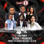 Your favourite actors are coming back to Uzalo. Season 7 is coming with fire