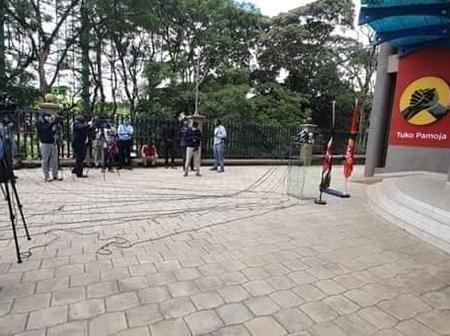 Expectation of Kenyans out of today's Raphael Tuju press address at the Jubilee Party Headquarters