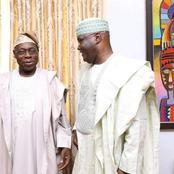 Atiku prays for Obasanjo as he clocks 84