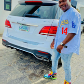 Fans Congratulate Comedian Dele Omo Woli As He Poses With A New Car In Recent Post