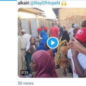 Video: Actress Rahama Sadau Distributing Ramadan Palliative Support to Less Privilege in Kaduna