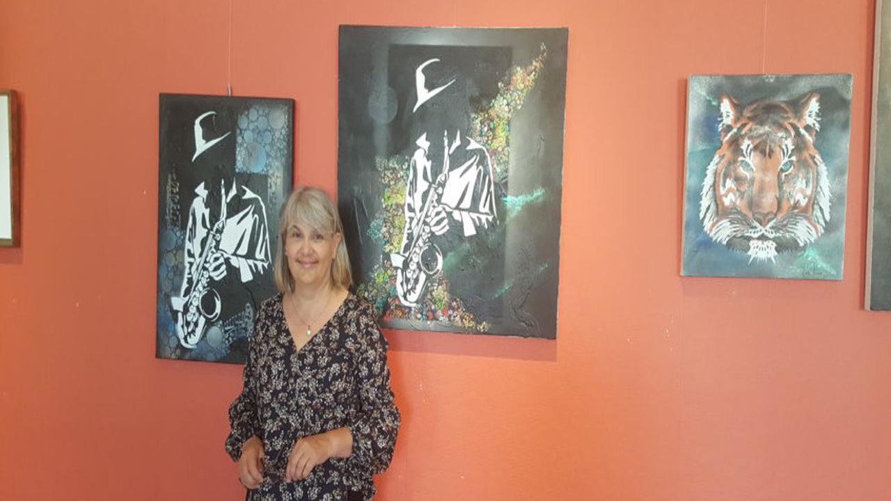 Gironde. Exposition à Cadillac : de Picasso à Klimt, Gillette Guerrero expose ses œuvres