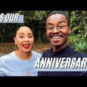 Hungani and Stephanie Ndhlovu celebrates their two year anniversary
