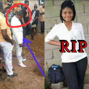 RIP: A Lady Was Buried on Her Wedding Day, Check Out Her Hausband's Reaction (PHOTOS)