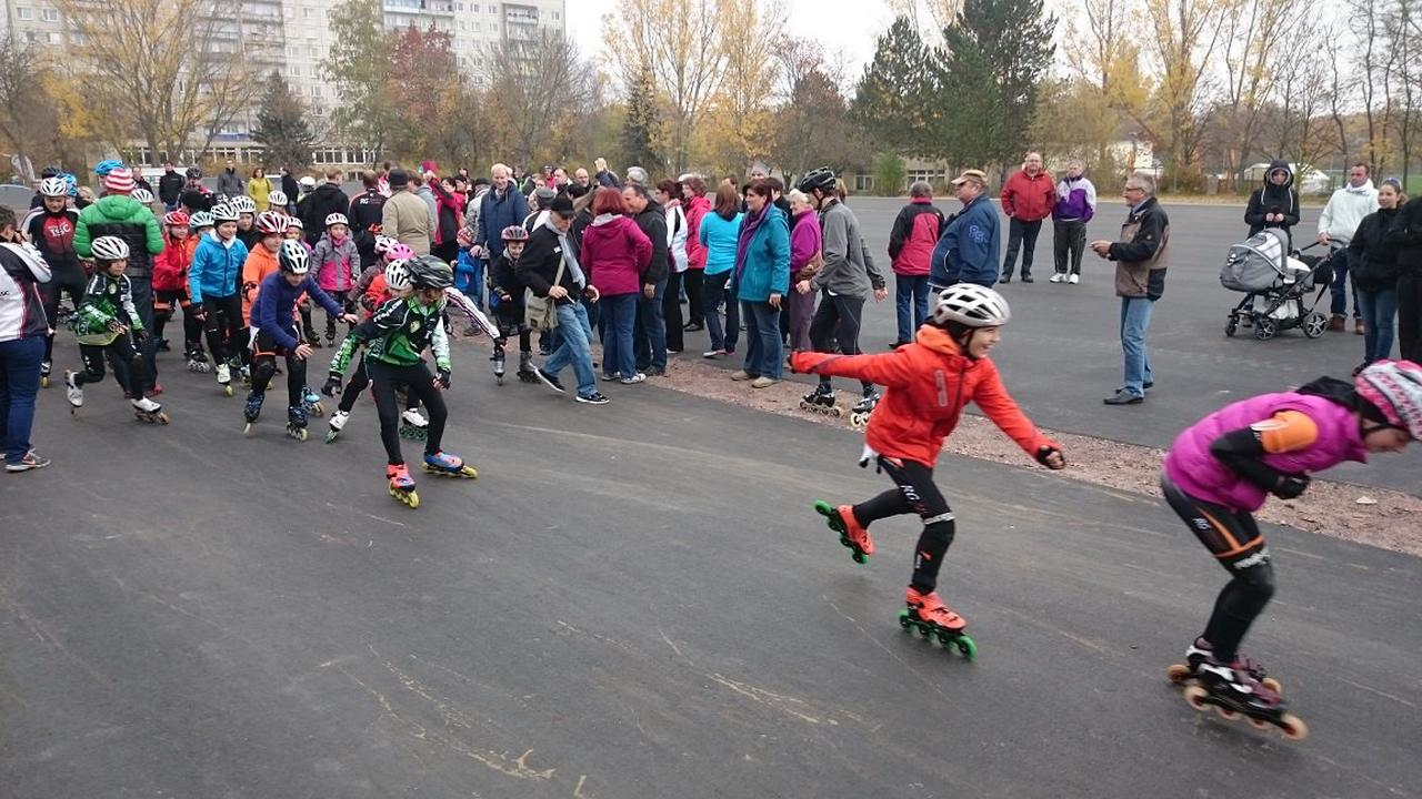 Deutsche Meisterschaft im Inline Speedskating in Halle