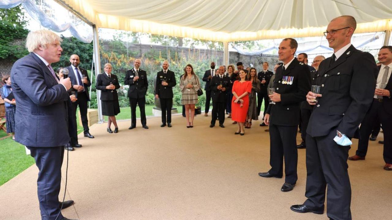 'Great honour' - PC Tom Woolley of Cumbria Police meets Boris Johnson