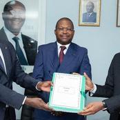 Passation de charges : le ministre Thomas Camara aux commandes  dans le secteur minier et pétrolier